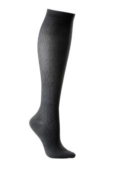 BSH Class 1 Unisex Patterned Sock Closed Toe Black Small Black   S   Standard   Closed Toe