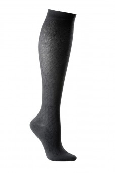BSH Class 2 Unisex Patterned Sock Closed Toe Black Small Black | S | Standard | Closed Toe