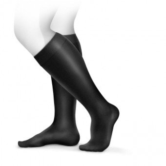 Adore Class 2 (23-32mmHg) (AD) Below Knee Closed Toe Petite Natural Tan Small  Natural Tan | S | Petite | Closed Toe