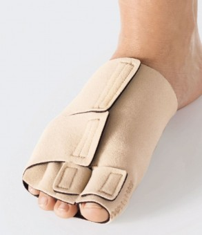 Beige ReadyWrap Toe Unit Left, S MTP Girth 18-20.4cm Left | Beige | S
